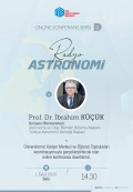 <b>Radyo Astronomi Online Konferans</b>